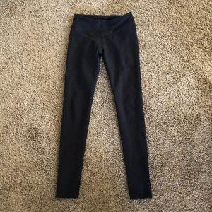Ryu Pants - Black yoga pants in dry fit material
